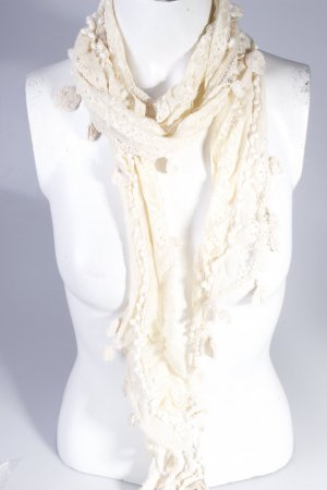 Lace scarf with Hekeldetails