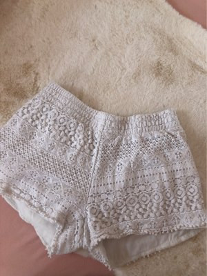 Hot pants bianco