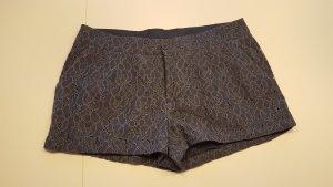 Spitzen Hot Pants in grau