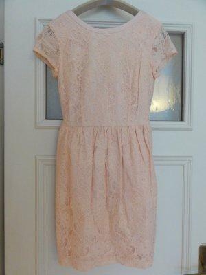 Spitzen Kleid aus Bio Baumwolle