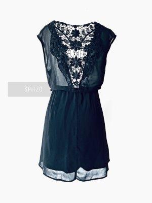 Primark Vestido de encaje negro