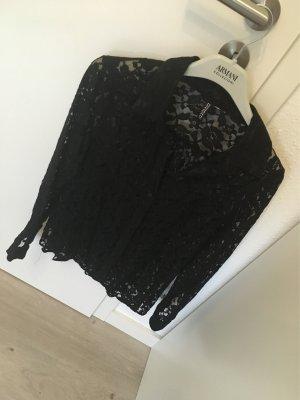 H&M Blusa in merletto nero