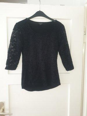 Amisu Lace Top black