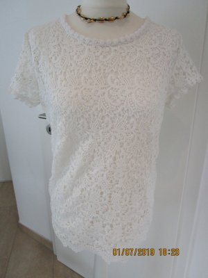 Crochet Shirt oatmeal