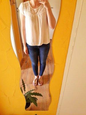H&M Camiseta blanco puro-crema