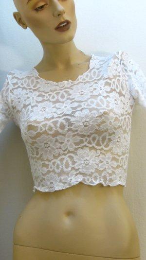 Lingerie white polyamide