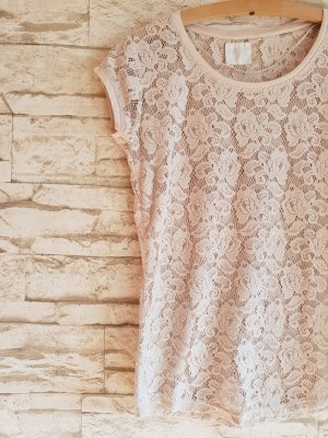 Zara Trafaluc Lace Top multicolored