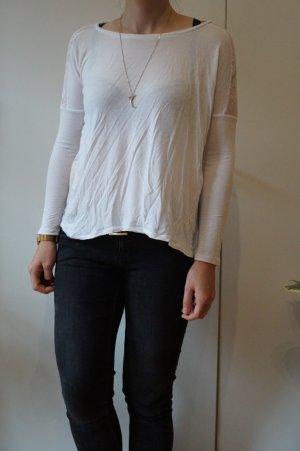 Tally Weijl Mesh Shirt white