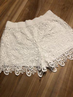 Spitzen-Shorts - weiß - NEU - Only - 36