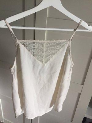 Spitzen top Vero Moda neu beige Nude Fashion Sommer