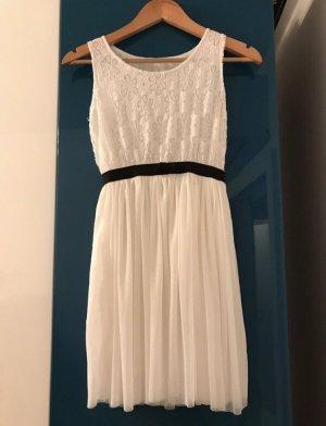 Mini Dress natural white-black