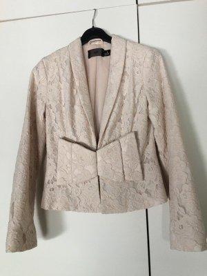H&M Blazer de esmoquin nude-rosa