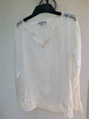 Comma Lace Blouse white