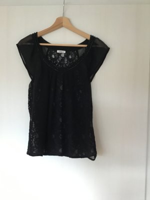 Only Lace Blouse black polyester