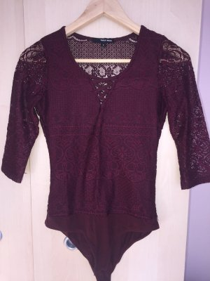Tally Weijl Bodysuit Blouse purple synthetic