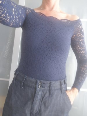 Hollister Shirt Body dark blue