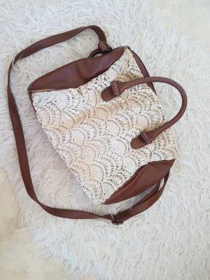 spitzenhandtasche