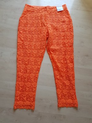 Spitzenhose von TOPSHOP in orange # neu# D 40/D42
