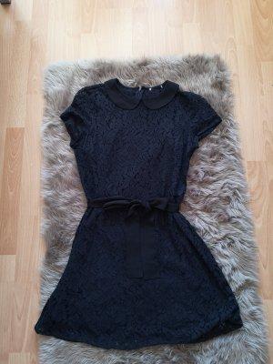 Forever 21 Vestido de encaje azul oscuro