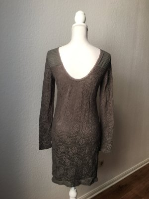 Vila Lace Dress olive green-khaki