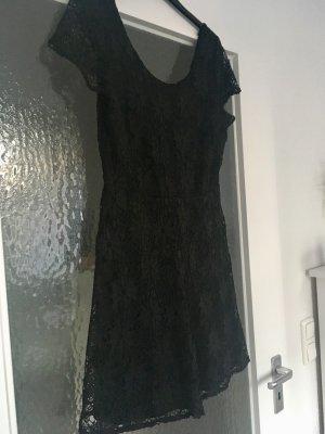 Atmosphere Kanten jurk zwart