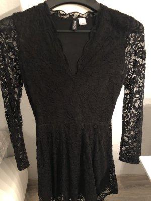 H&M Lace Dress black