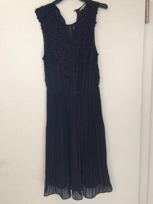 H&M Lace Dress dark blue