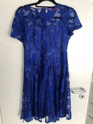 Lace Dress blue