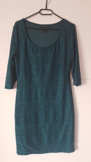 Amisu Lace Dress forest green