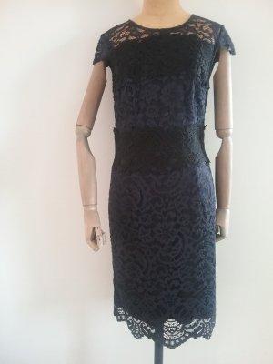 Esprit Lace Dress black-dark blue