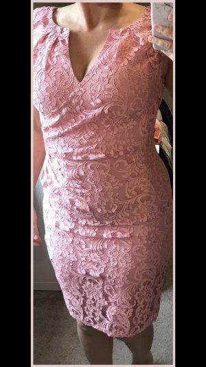 Adrianna Papell Midi-jurk roségoud