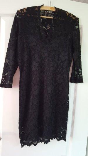 Miusol Kanten jurk zwart