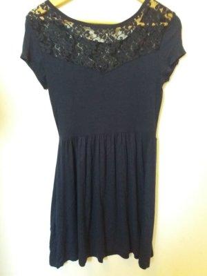 C&A Lace Dress dark blue