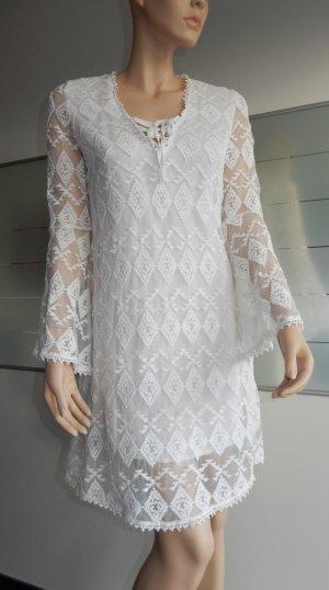 Edited x Lena Terlutter Hippie Dress white
