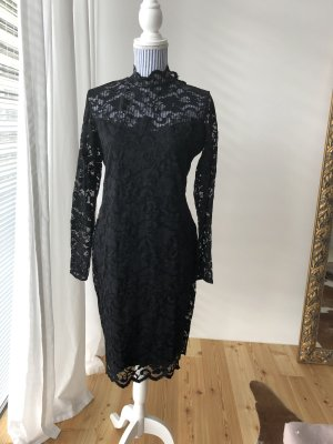 H&M Robe en dentelle noir