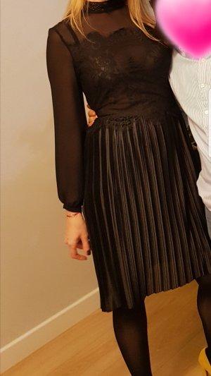 Spitzenkleid Kleid schwarz 38