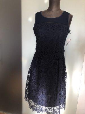 Yessica Babydoll-jurk donkerblauw
