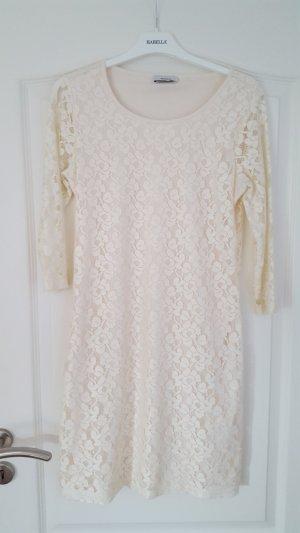Yessica Lace Dress oatmeal