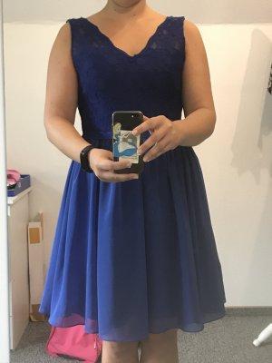 Abito da cocktail blu