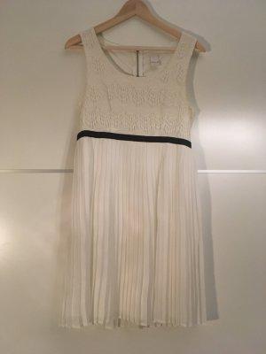 Vila Lace Dress white-black