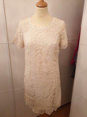 Zara Woman Lace Dress natural white
