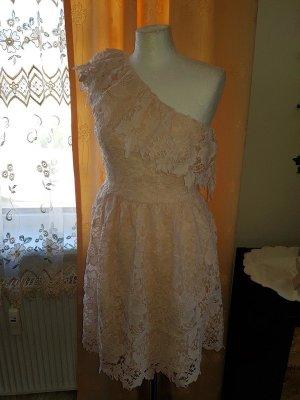 Spitzenkleid One Shoulder Kleid Vero Moda Gr. S (36) Neu häkelkleid Minikleid