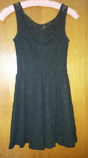 Pimkie Vestido de encaje negro