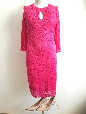 Spitzenkleid rosa Spitze Kleid