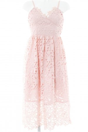 Spitzenkleid rosé Casual-Look