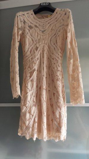 H&M Lace Dress nude