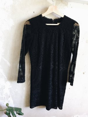 Isabel Marant pour H&M Kanten jurk zwart