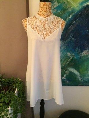 Spitzenkleid spitze Kleid weiß Gr S neu
