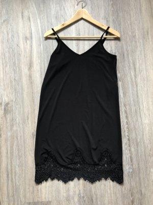 Pieces Lace Dress black