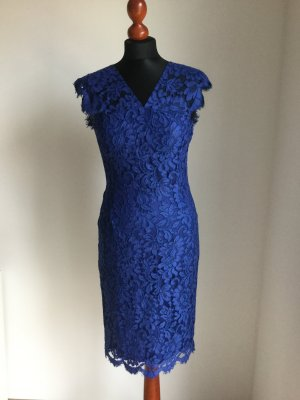SET Urban Deluxe Lace Dress blue mixture fibre